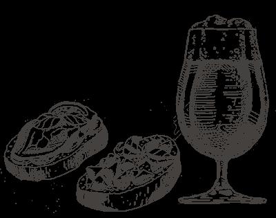 Bier-en-crostinis